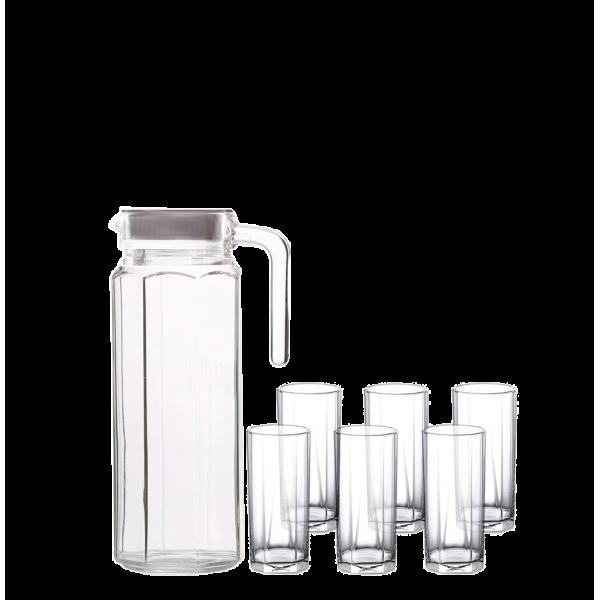 شاف+6كاسة زجاج,LZ060101,BLINKMAX