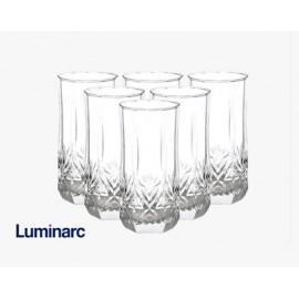 طقم 6 كاسات زجاج,LUMINARC STERLING