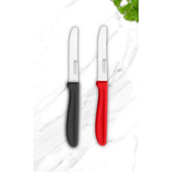 2 سكين فواكه يد بلاستيك ,NAAMAN
