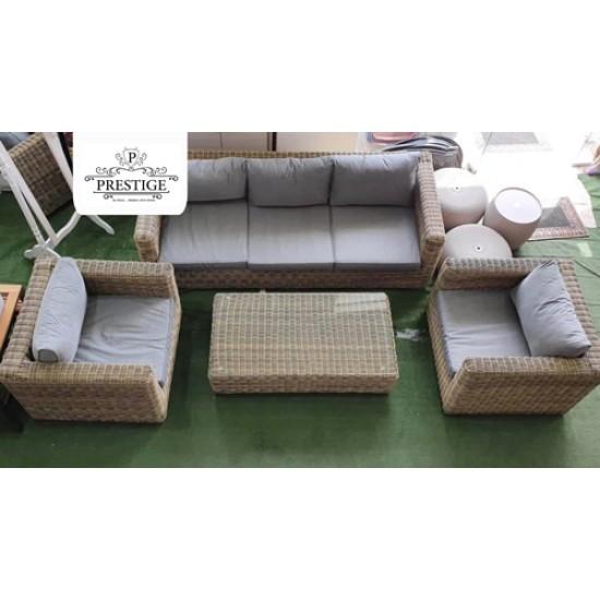 طقم كنب (5 مقاعد+طاولة),prestige , Relax