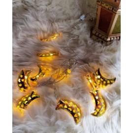 حبل (هلال رمضان)مضيء ذهبي,9201296,هابي