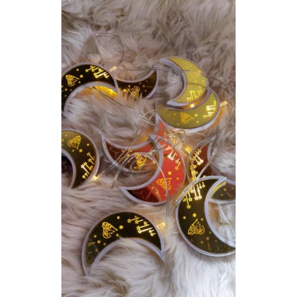 حبل زينة (هلال رمضان)مضيء,9201348,هابي