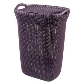 سلة غسيل بلاستيك ،8694313002619، violet-0261
