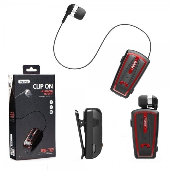 Bluetooth headset, 6954851262299, remax / HD RB-T12 bibo