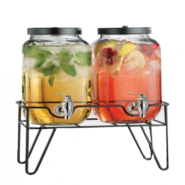 2 juice tank with tap, 6259855182599   Happy  - 4 liters