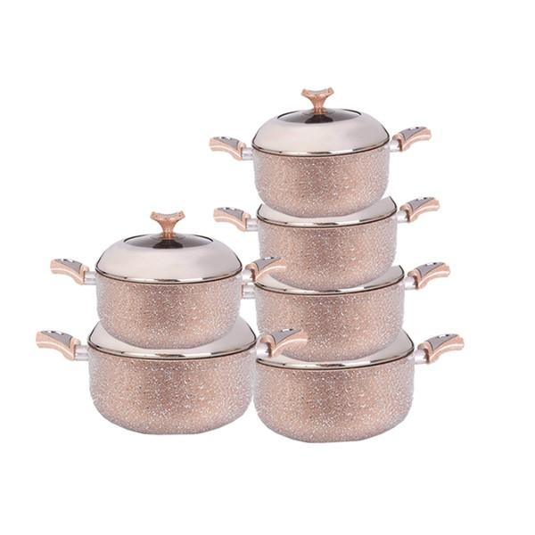 6 cookers kit Granite