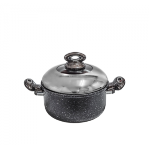 elite granite black pot 24 cm 9199303