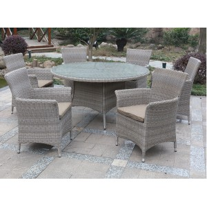 caramelo Dining table set with 6 chairs