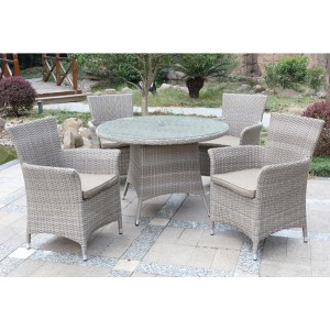 caramelo Dining table set with 4 chairs