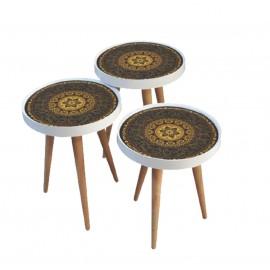 Set of 3 tables, 818046, Turkish