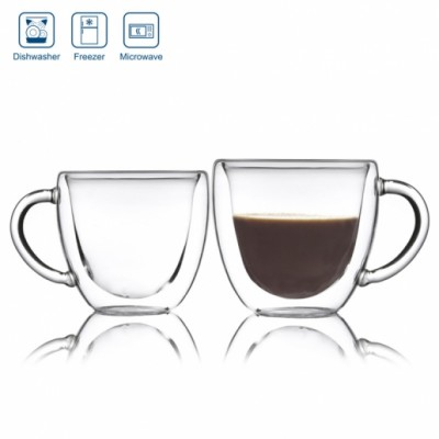 Double Shielded Heat Insulation Case 80 ml For coffee glass 7290110161019