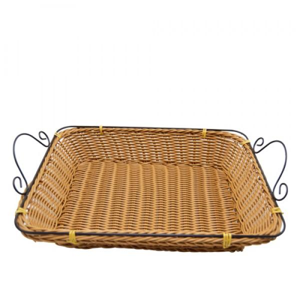 Straw basket, 918625, HAPPY Iron hand