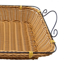 Straw basket, 918625, HAPPY Iron hand