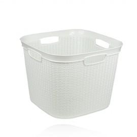 سلة غسيل بلاستيك مربع -٤١ لتر ،8691459081003، ucsan