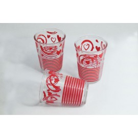 3 cups glass, 91802623cerve