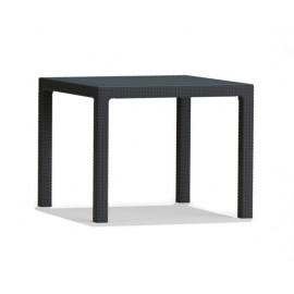طاولة رتان 95*95 سم مربع quartet