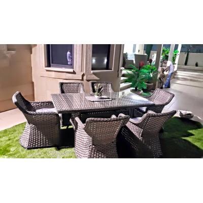 SULTAN طقم طاولة مع 6كراسي