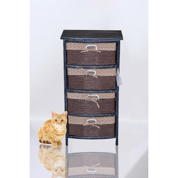 4  جوارير خشب   coffee  4   drawers