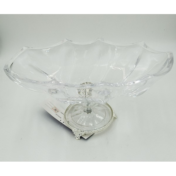 Platter oval Silver Crystal 9169211