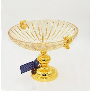 Crystal Gold Platter 9169228