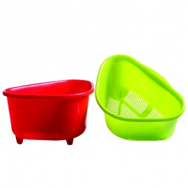 Plastic sink  triangle top