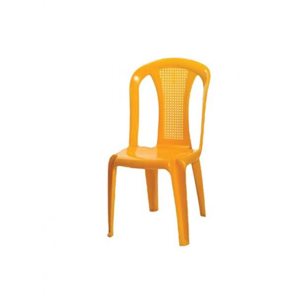 كرسي بلاستيك اردني مع ايدي او بدون top