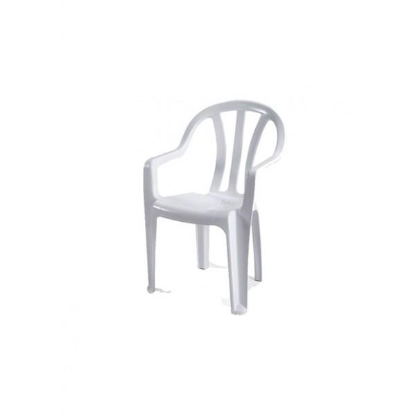 كرسي بلاستيك داليا keter  مع ايدي